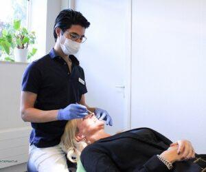 orthodontist werkwijze stap 1
