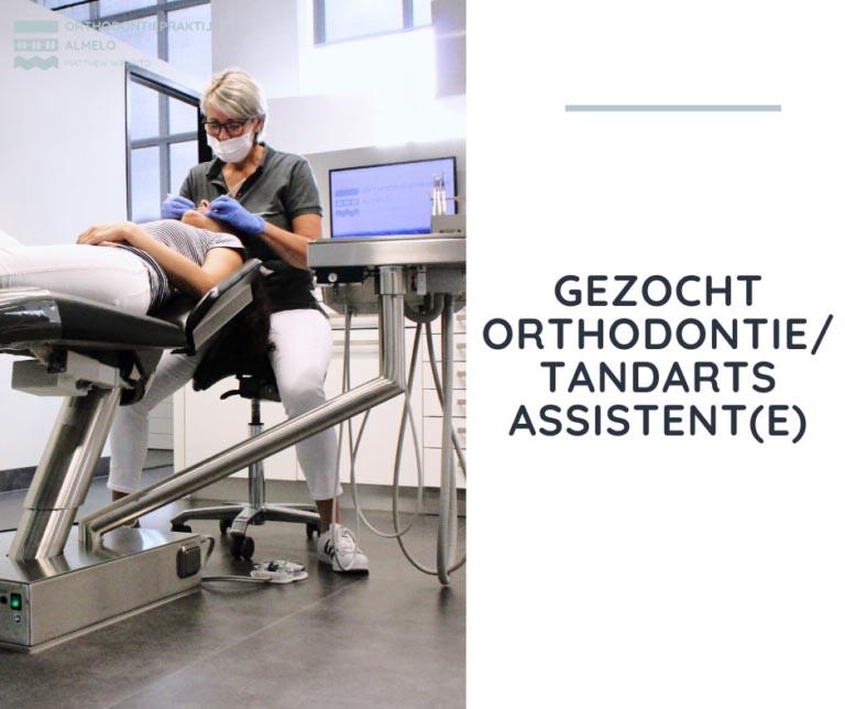 vacature tandartsassistente
